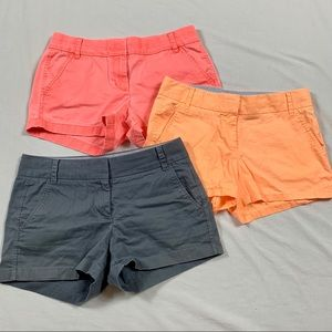 J. Crew Chino Broken In Shorts Lot